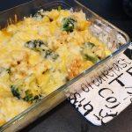 Snelle ovenschotel met broccoli, kip en kaas