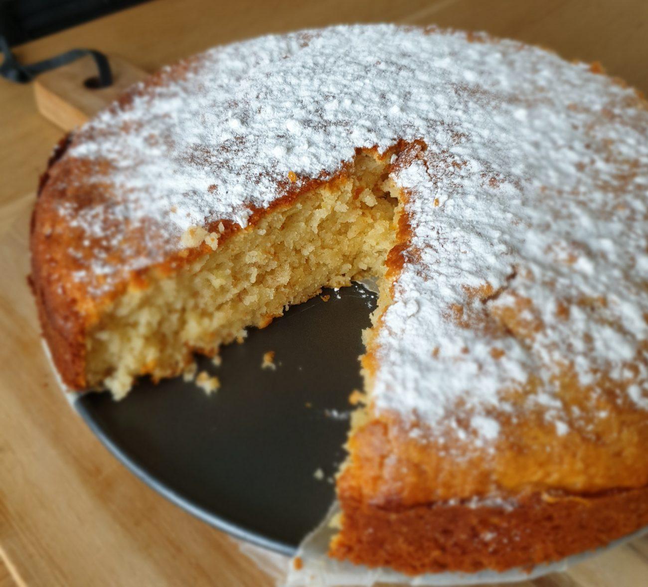 Citroen vanille cake
