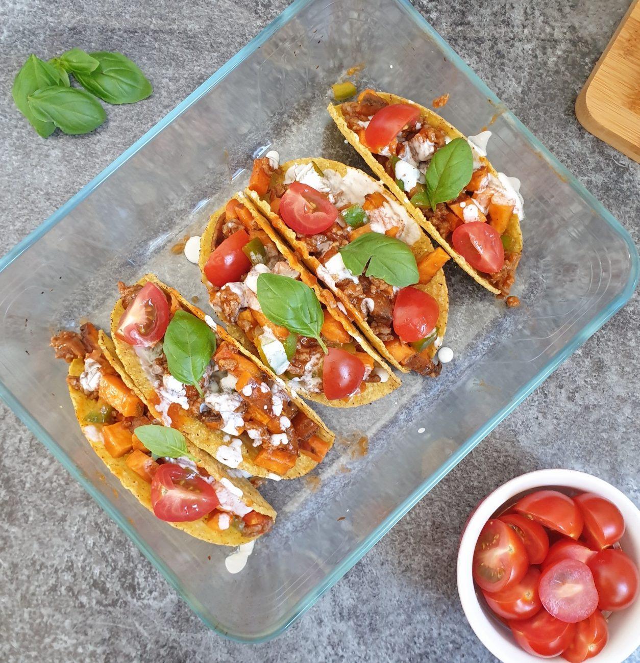 Groenten taco