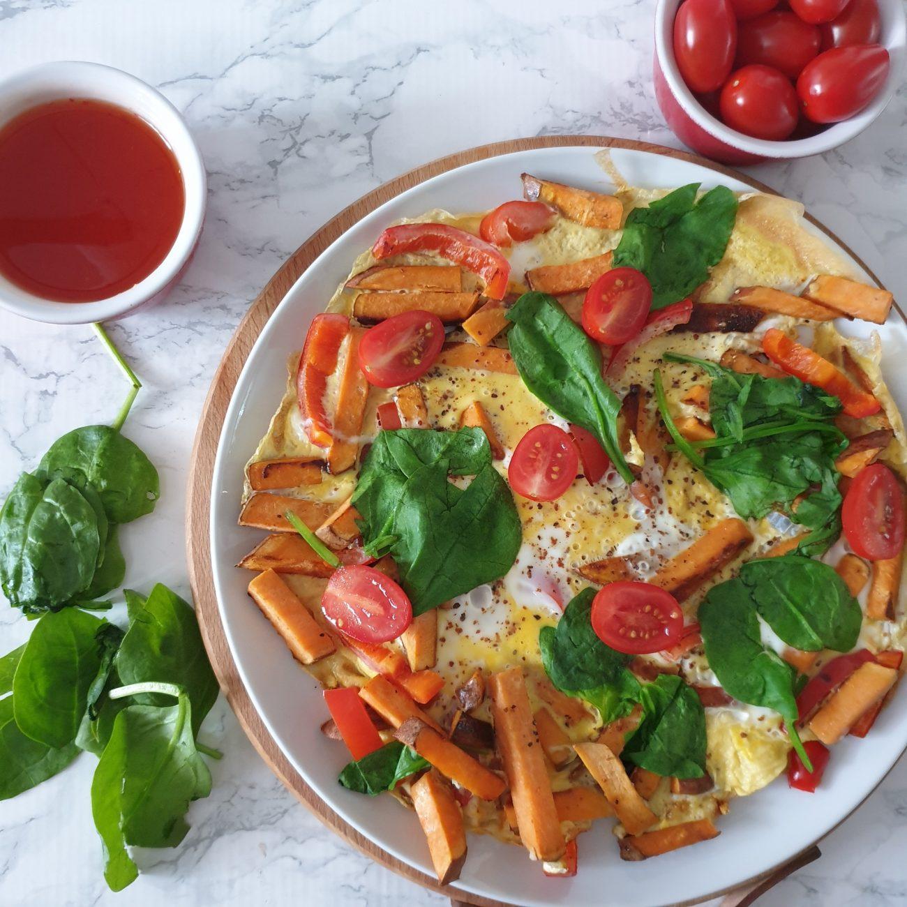 Groenten omelet