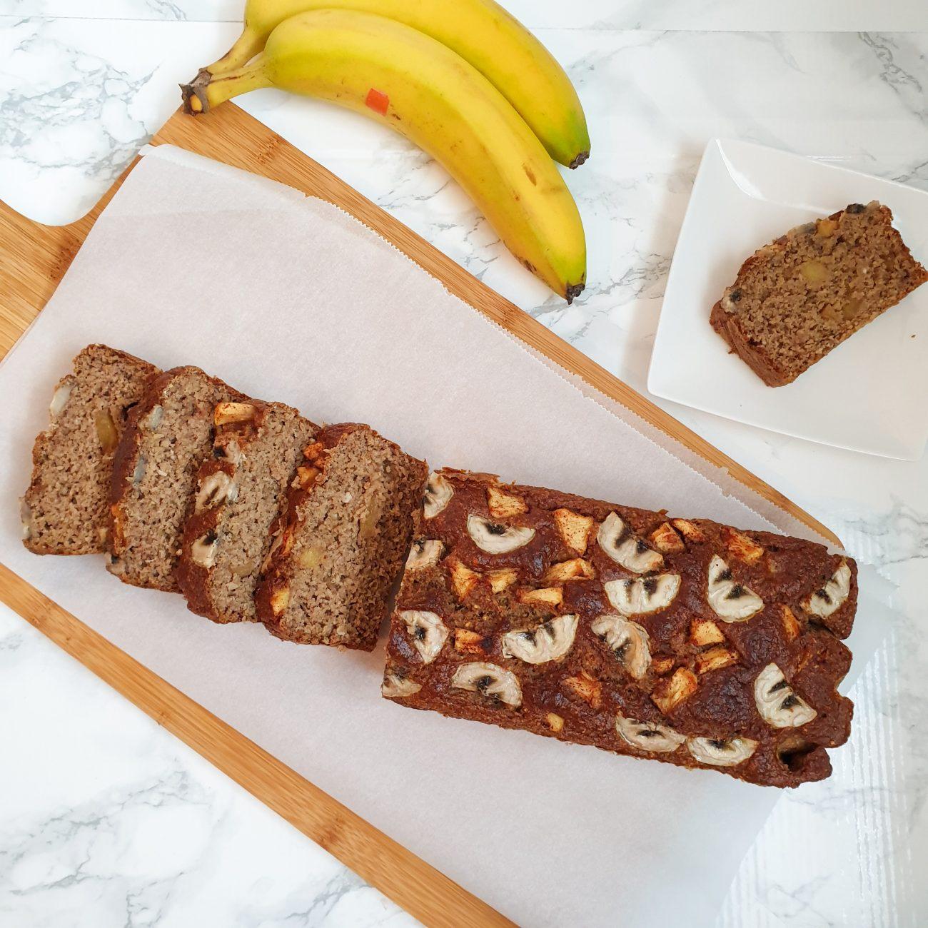 Vanille bananenbrood: gezond, lekker, makkelijk